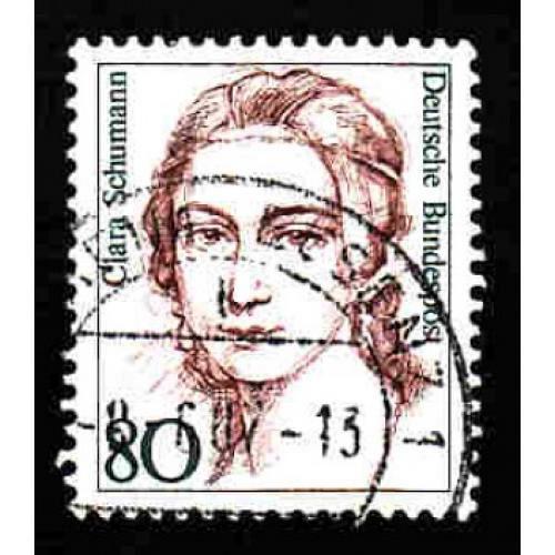 German Used Scott #1483 Catalog Value $.25