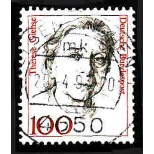 German Used Scott #1484 Catalog Value $.35