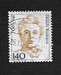 German Used Scott #1487 Catalog Value $1.40