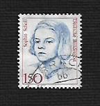 German Used Scott #1488 Catalog Value $1.40