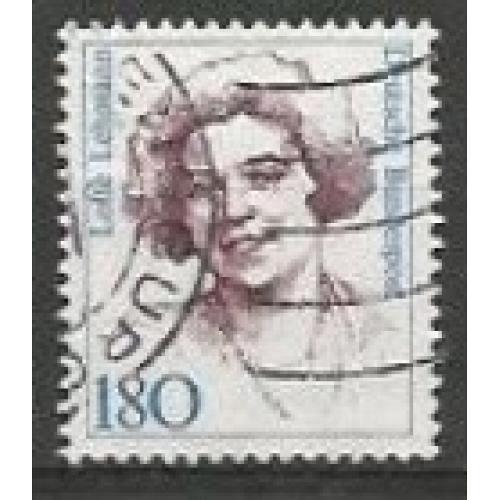 German Used Scott #1490 Catalog Value $1.20