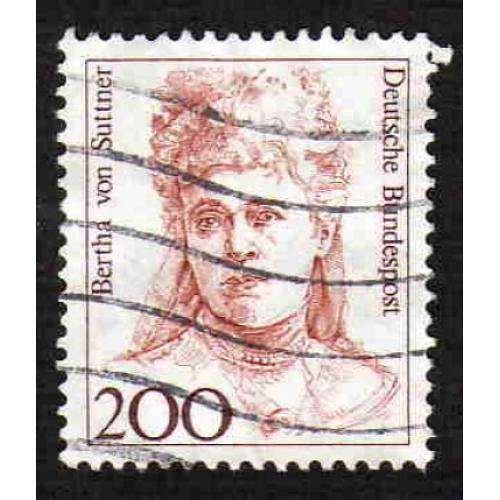 German Used Scott #1491 Catalog Value $.80