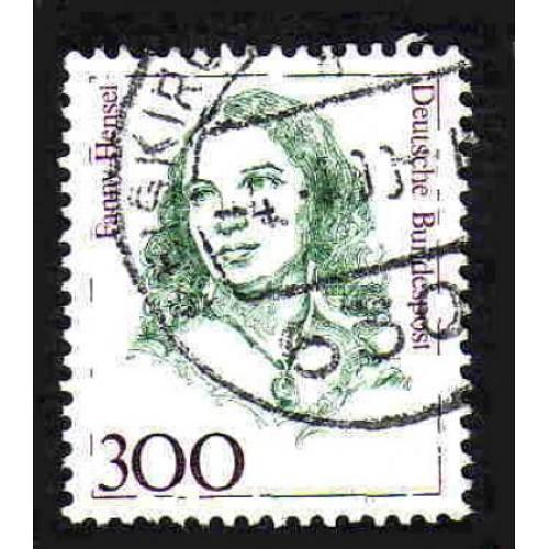 German Used Scott #1493A Catalog Value $1.20