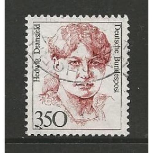 German Used Scott #1494 Catalog Value $2.40