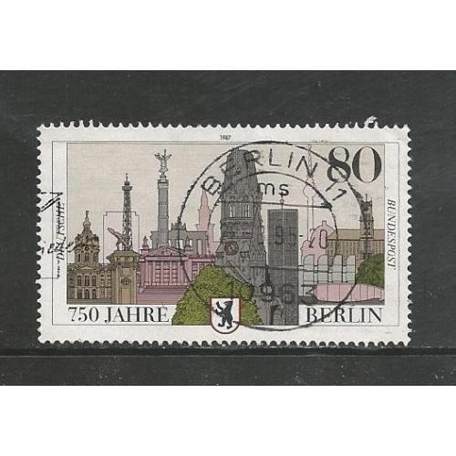 German Used Scott #1496 Catalog Value $.60