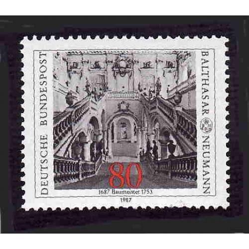 German MNH Scott #1497 Catalog Value $1.60