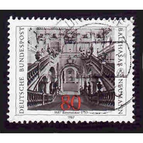 German Used Scott #1497 Catalog Value $.45