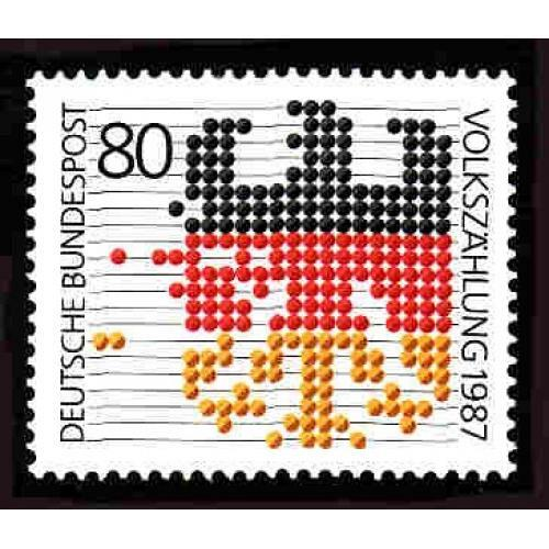 German MNH Scott #1499 Catalog Value $1.75