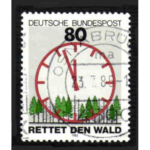 German Used Scott #1445 Catalog Value $.45