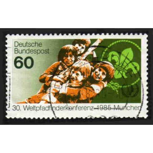 German Used Scott #1446 Catalog Value $.45