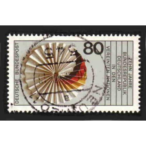 German Used Scott #1402 Catalog Value $.45