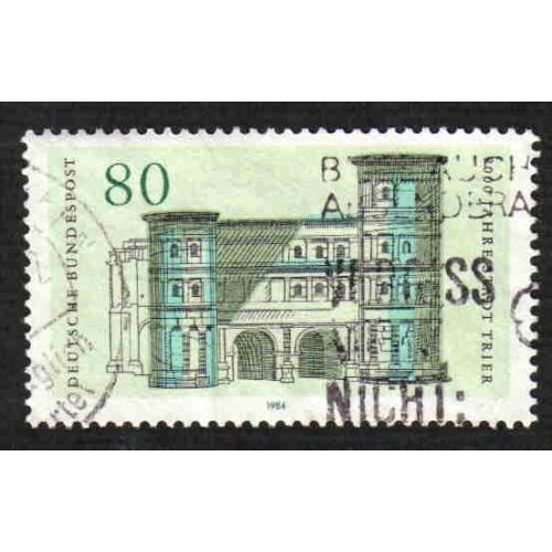 German Used Scott #1409 Catalog Value $.45