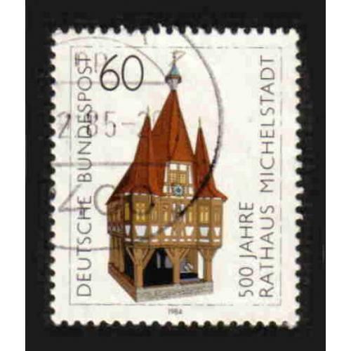 German Used Scott #1412 Catalog Value $.30