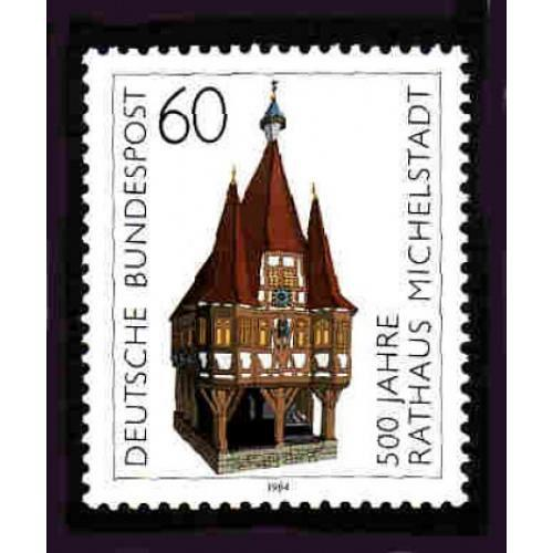 German MNH Scott #1412 Catalog Value $1.00