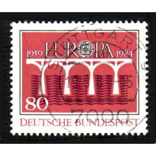 German Used Scott #1416 Catalog Value $.35