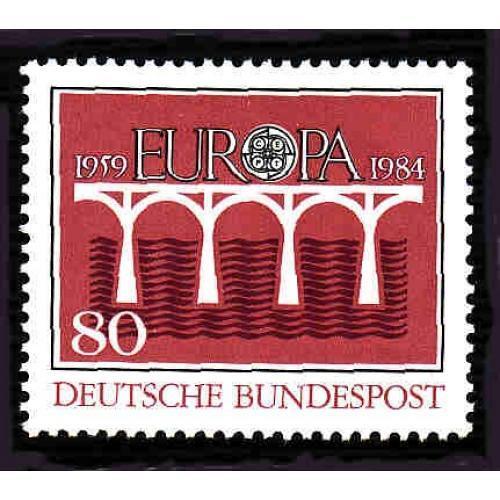 German MNH Scott #1416 Catalog Value $1.25
