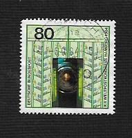 German Used Scott #1420b Catalog Value $.75