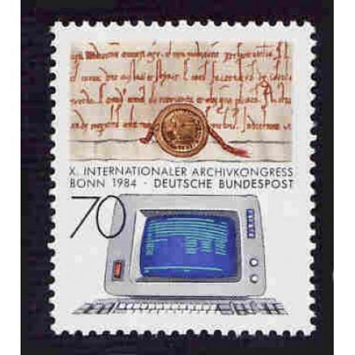 German MNH Scott #1425 Catalog Value $1.25