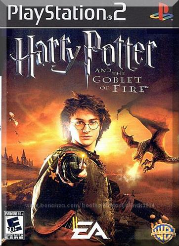 PS2 - Harry Potter & The Goblet Of Fire (2005) *Complete w/Case & Instructions*