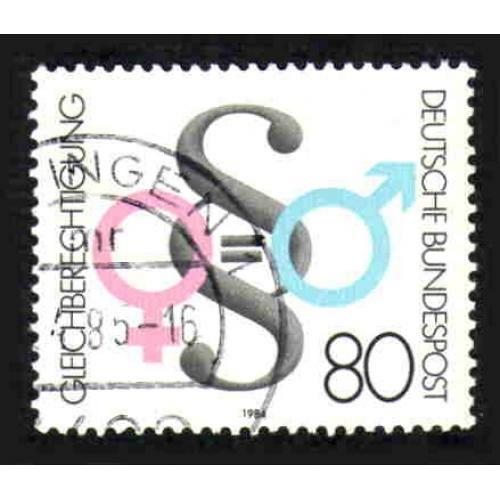 German Used Scott #1430 Catalog Value $.45