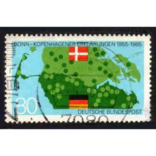 German Used Scott #1437 Catalog Value $.60