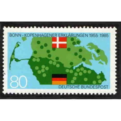 German MNH Scott #1437 Catalog Value $1.90