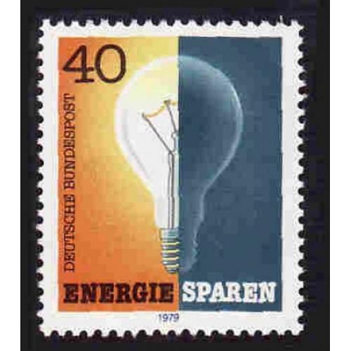 German MNH Scott #1305 Catalog Value $.60