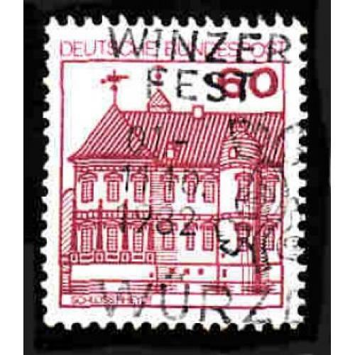 German Used Scott #1311 Catalog Value $.30