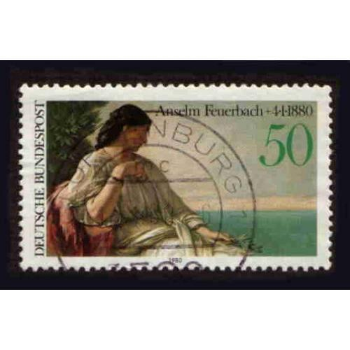 German Used Scott #1321 Catalog Value $.30