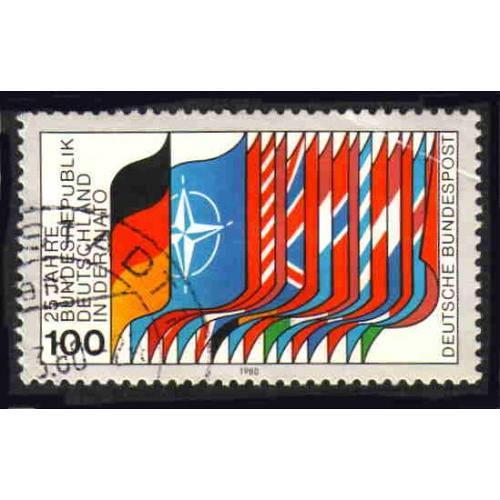 German Used Scott #1322 Catalog Value $.75