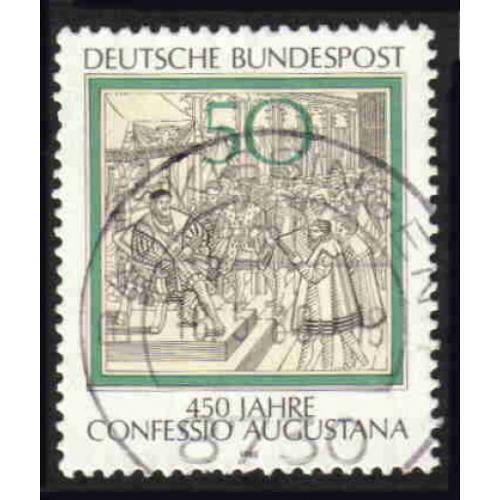 German Used Scott #1330 Catalog Value $.30