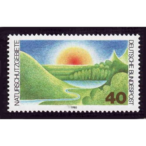 German MNH Scott #1331 Catalog Value $1.00