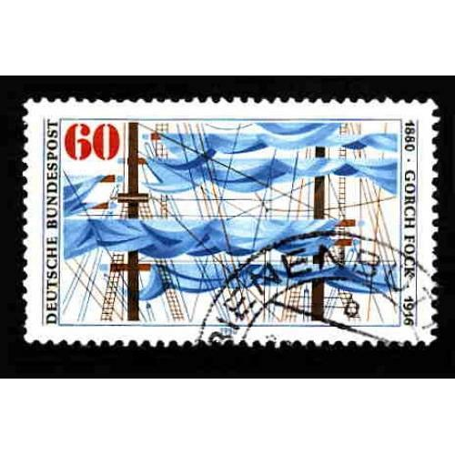 German Used Scott #1337 Catalog Value $.30