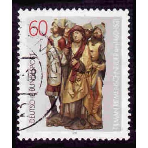 German Used Scott #1352 Catalog Value $.30