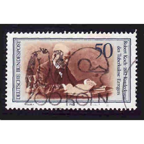 German Used Scott #1370 Catalog Value $.30