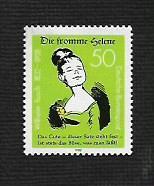 German MNH Scott #1371 Catalog Value $1.00