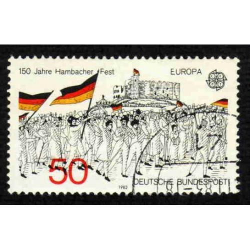 German Used Scott #1372 Catalog Value $.25