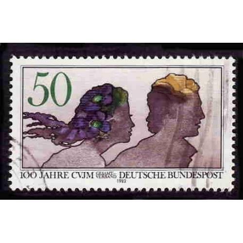 German Used Scott #1375 Catalog Value $.30