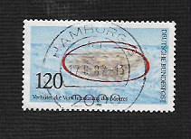 German Used Scott #1378 Catalog Value $.45