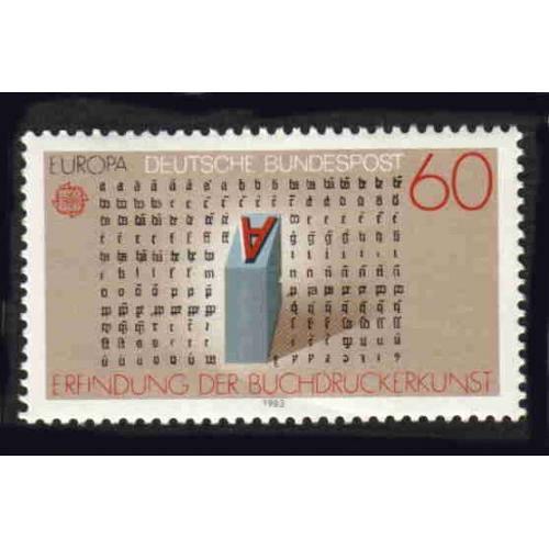 Germany Hinged Scott #1392 Catalog Value $1.95