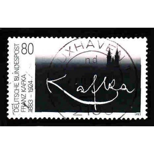 German Used Scott #1395 Catalog Value $.45