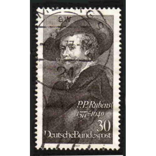 German Used Scott #1250 Catalog Value $.30