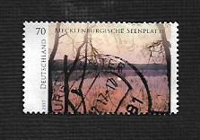 German Used Scott #2998 Catalog Value $.85