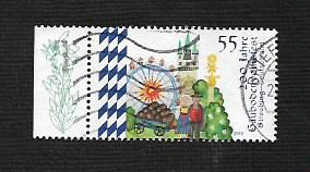 German Used Scott #2686 Catalog Value $.70