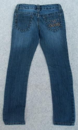 Girls Guess Jeans Skinny Legs Size 8