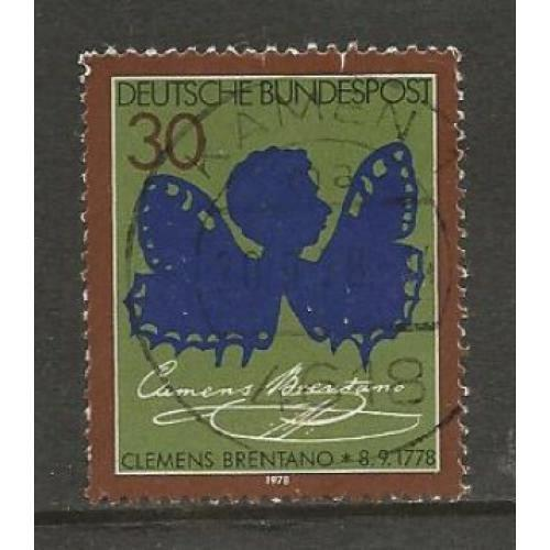 German Used Scott #1279 Catalog Value $.30