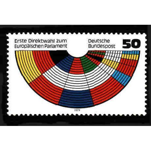 German MNH Scott #1289 Catalog Value $.90