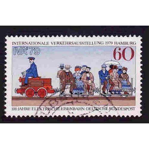 German Used Scott #1294 Catalog Value $.30