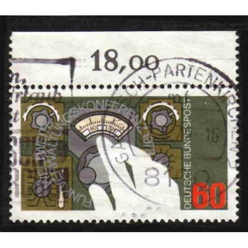 German Used Scott #1295 Catalog Value $.30