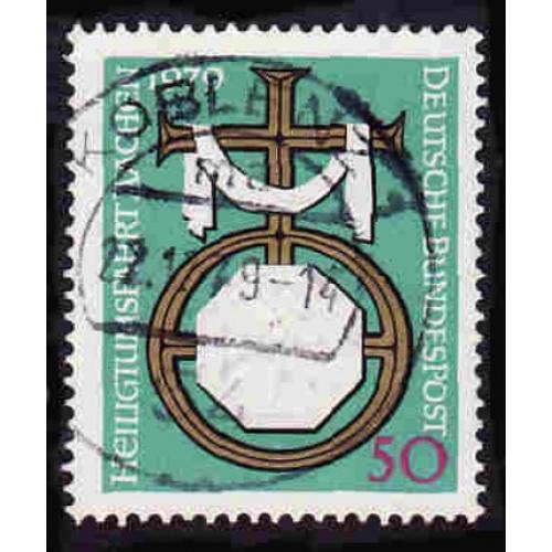 German Used Scott #1297 Catalog Value $.30